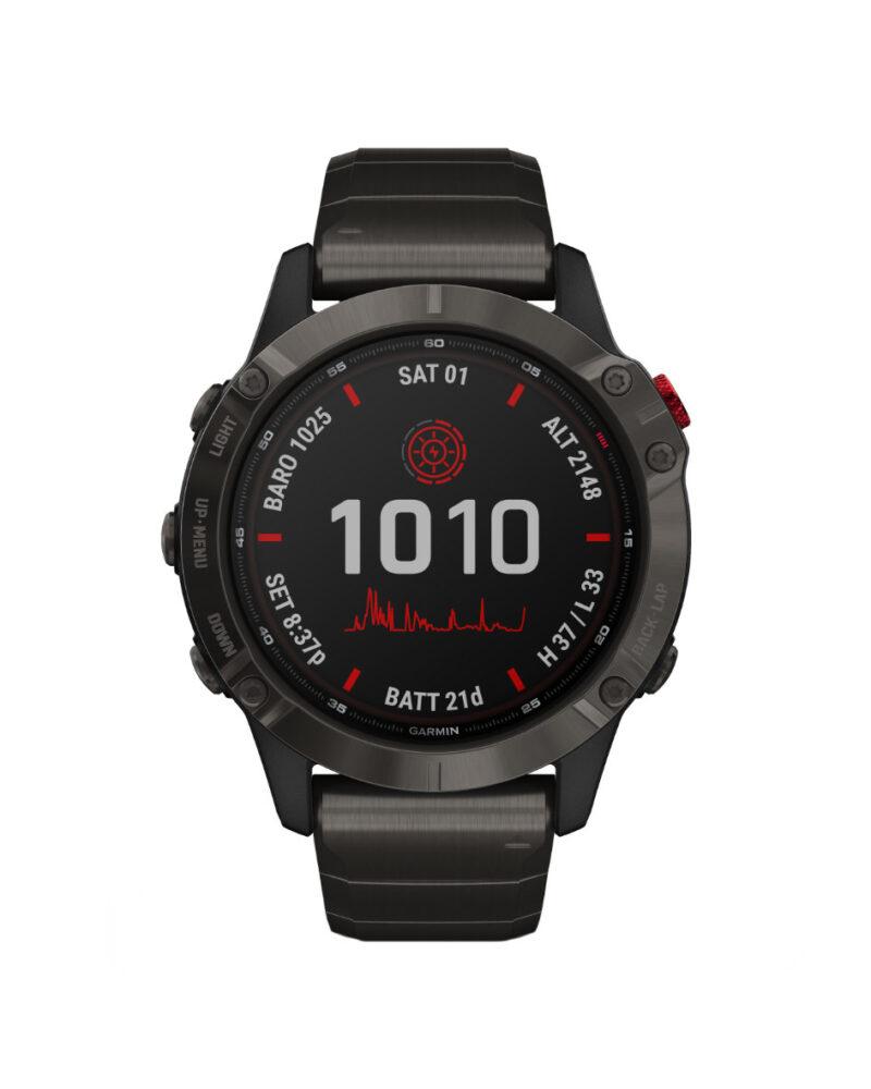 28215 - Garmin Fenix 6 Pro Solar Watch Store Exclusive