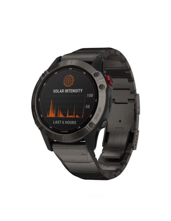 28216 - Garmin Fenix 6 Pro Solar Watch Store Exclusive
