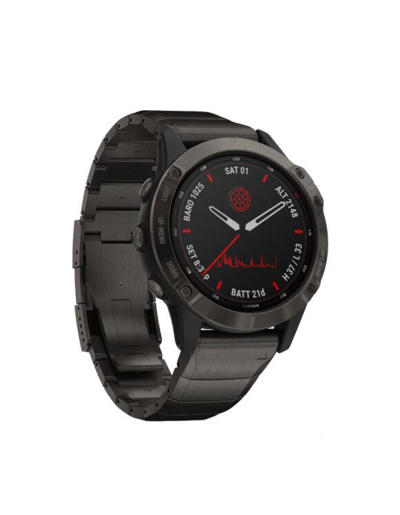 28217 - Garmin Fenix 6 Pro Solar Watch Store Exclusive
